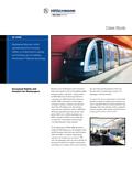Modernizacja wagonów metra i tramwajów poprzez zainstalowanie rozwiązań ethernetowych Hirschmann'a