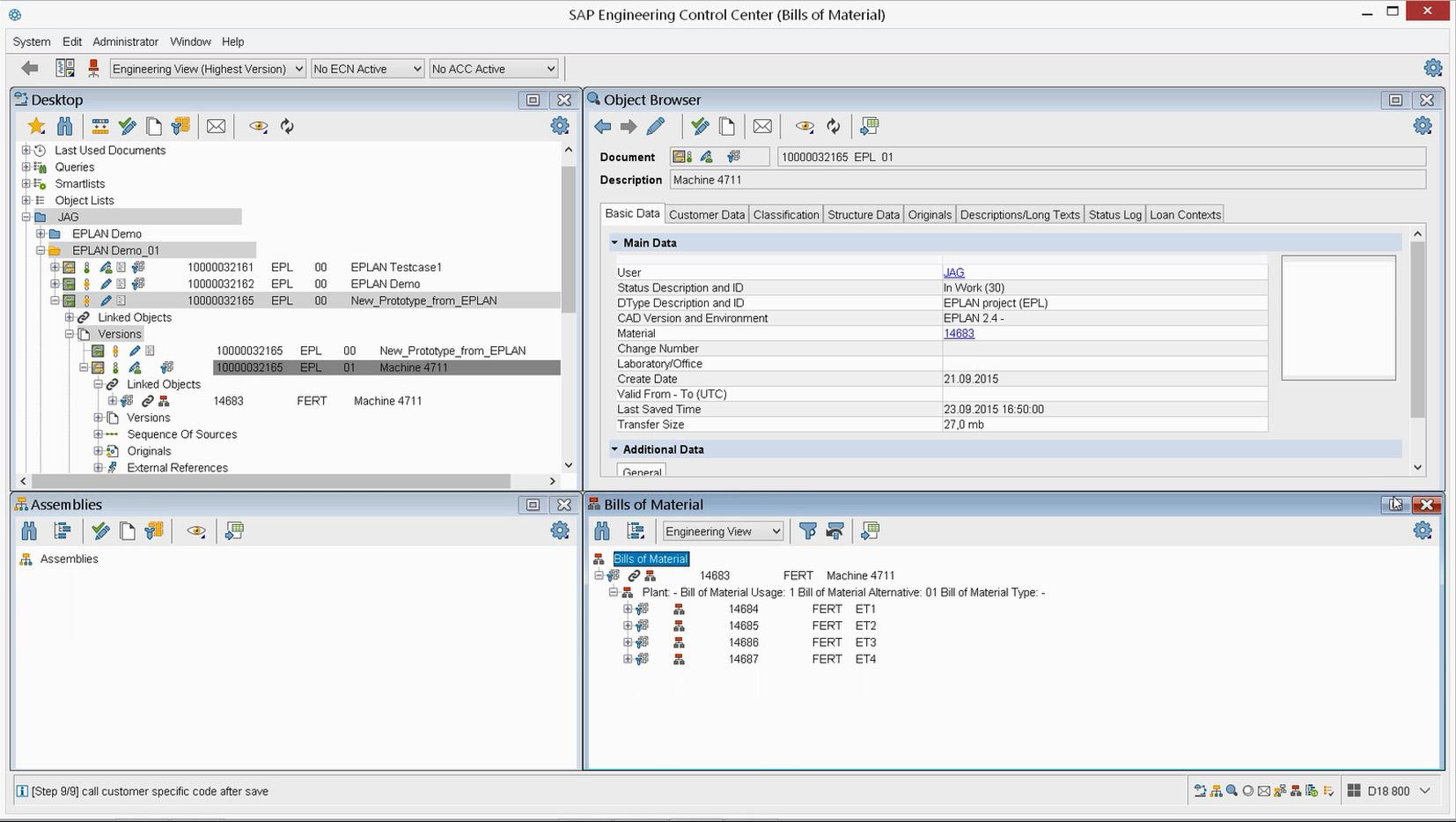 Certyfikowany interfejs EPLAN w SAP