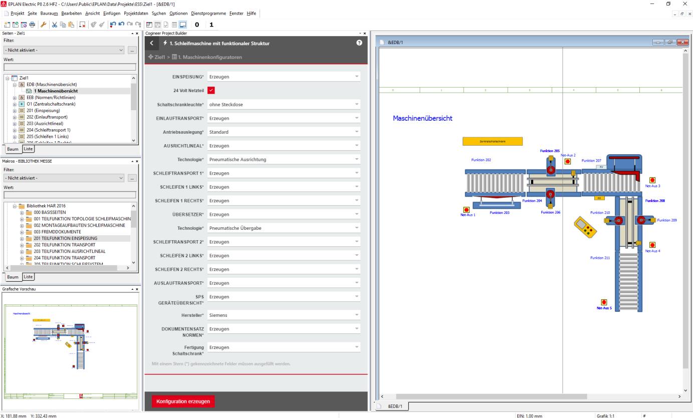 Nowe rozwiązanie EPLAN Cogineer jest w pełni zintegrowane ze środowiskiem Platformy EPLAN