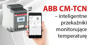 ABB CM-TCN – inteligentne przekaźniki monitorujące temperaturę