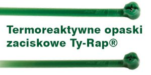 Termoreaktywne opaski zaciskowe Ty-Rap®